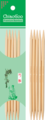 CHIAOGOO Спицы чулочные CG, бамбук светлый 13 см, 2.25 мм