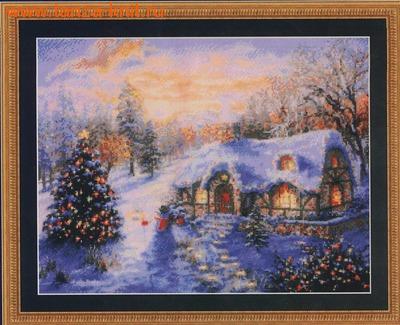 Набор Рождественский домик
