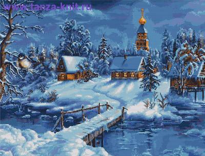 """Набор """"Зимний пейзаж"""""""