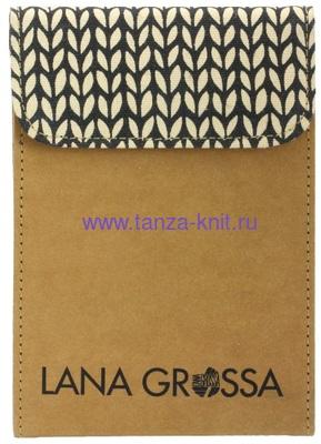 Lana Grossa Набор LG разъёмных спиц Signal (Цветное дерево), замша бежевый (фото, вид 1)