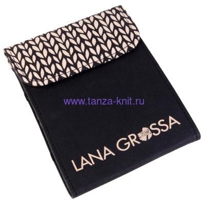 Lana Grossa Набор LG крючков Signal малый, ткань черный (фото, вид 1)