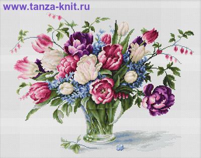 "Luca-S Набор ""Тюльпаны"""
