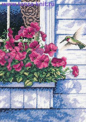 """Набор """"Цветы и колибри"""""""