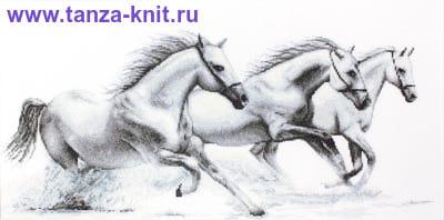 "Luca-S Набор ""Белые лошади"""