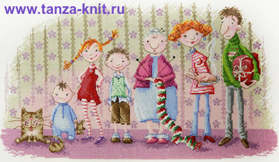 "Марья Искусница Набор ""Семейка"""