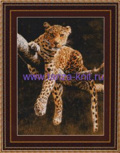 Kustom Krafts Набор Отдыхающий леопард