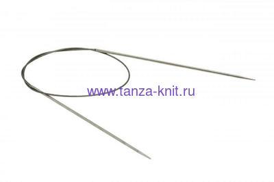 Lana Grossa Спицы круговые LG, нержавеющая сталь 80 см № 3