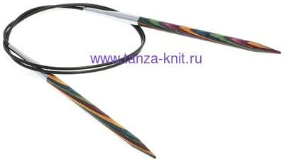 Lana Grossa Спицы круговые LG DESAIGN-HOLZ (разноцветные), длина 40, № 2.5