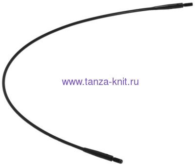Lana Grossa Леска LG, 120 см, цвет черный
