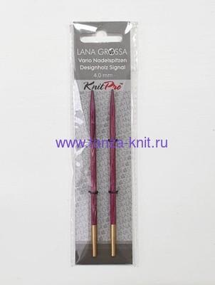 Lana Grossa Разъёмные спицы LG, Signal, дерево 11,5 см № 4