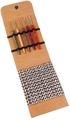 Lana Grossa Набор LG крючков Signal, с цветной деревянной ручкой, замша бежевый